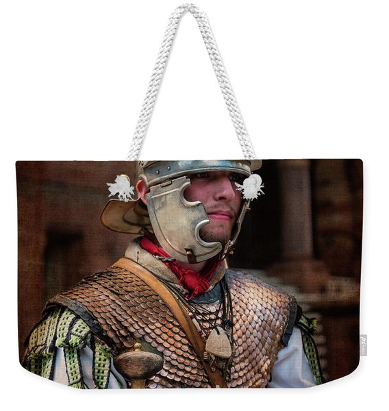 Roman Duty At World 's End Weekender Tote Bag