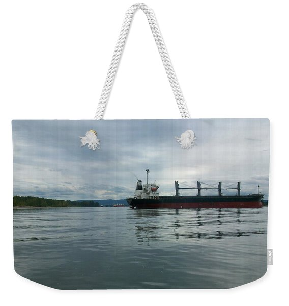 The Mighty Columbia Weekender Tote Bag