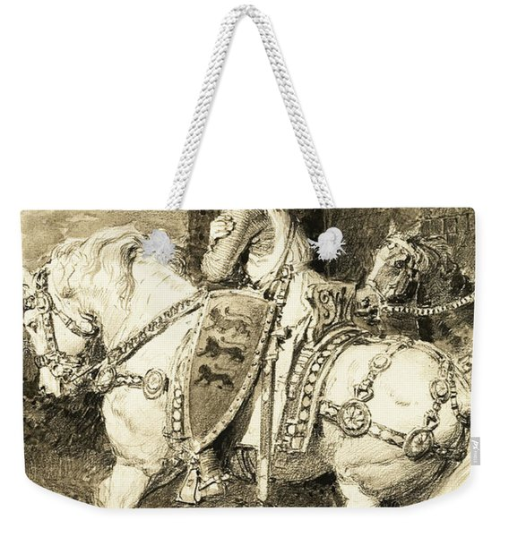The Mighty King Of Chivalry  Richard The Lion Heart Weekender Tote Bag