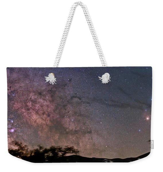 The Milky Way Core Weekender Tote Bag