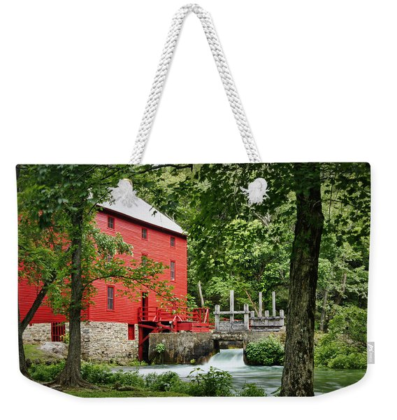The Mill At Alley Spring Weekender Tote Bag