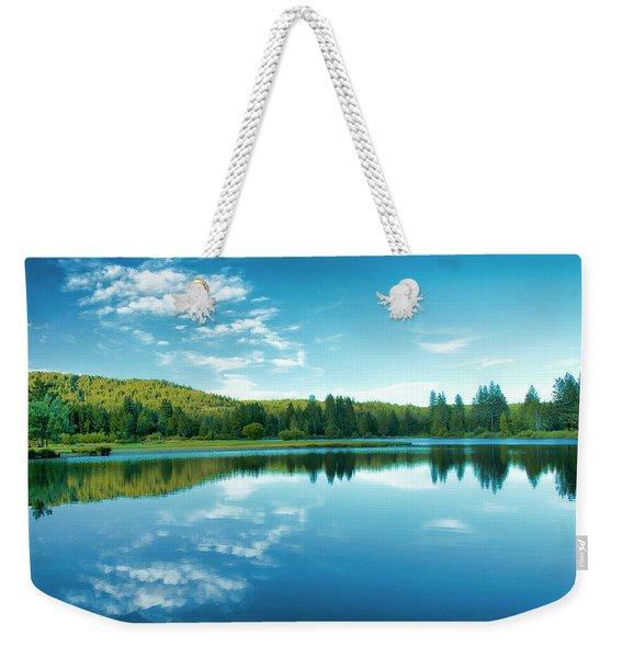 The Mill Pond  Weekender Tote Bag