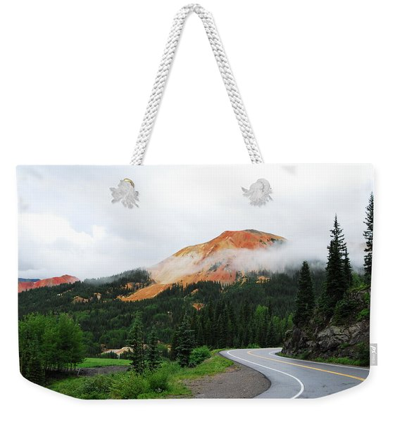 The Million Dollar Highway To Ouray Weekender Tote Bag