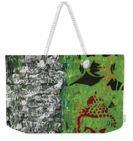 The Mind Is Everything Weekender Tote Bag