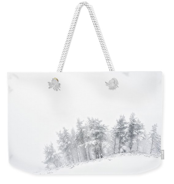 The Minimal Forest Weekender Tote Bag