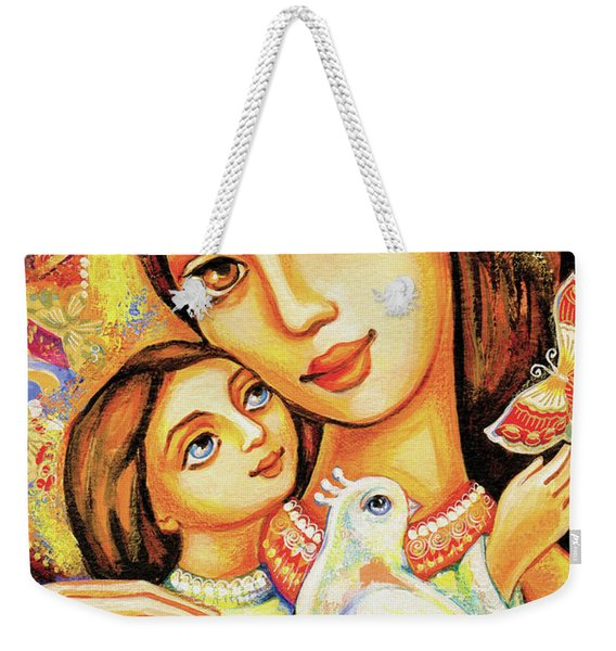The Miracle Of Love Weekender Tote Bag