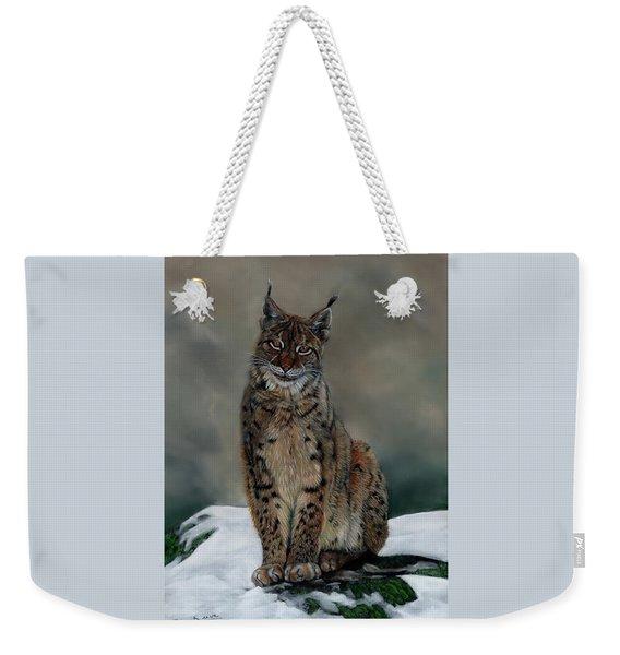 The Missing Lynx Weekender Tote Bag