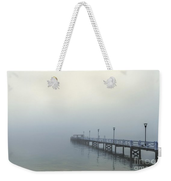 The Mist That Hides Your Trace Weekender Tote Bag