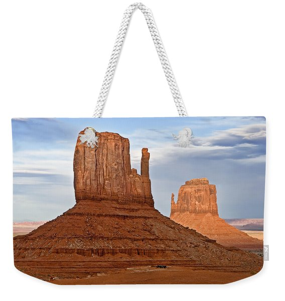 The Mittens Weekender Tote Bag