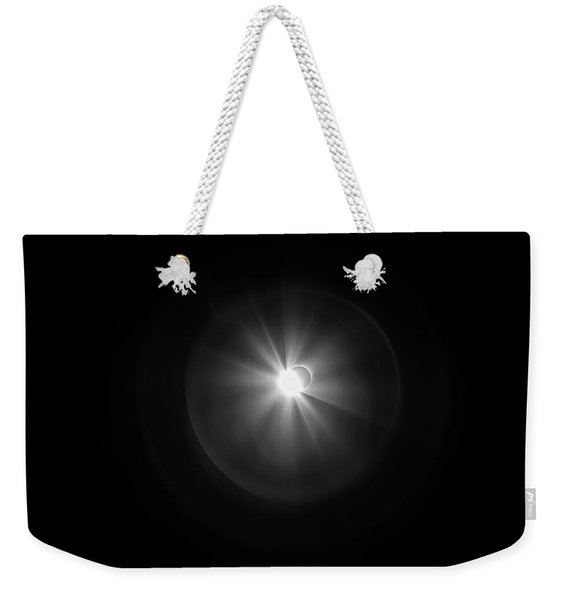 The Moment Of Joining Weekender Tote Bag
