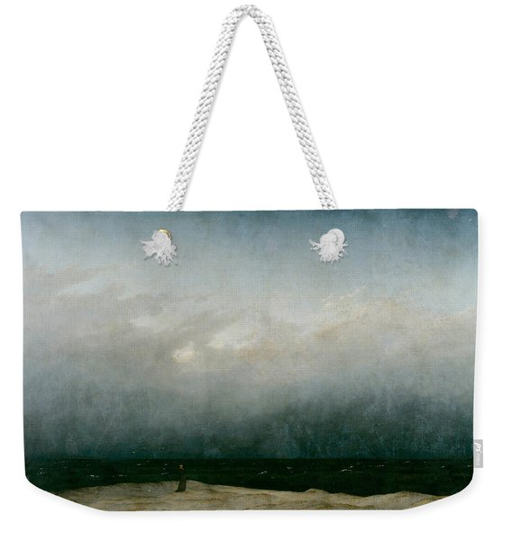 Monk By The Sea  Weekender Tote Bag