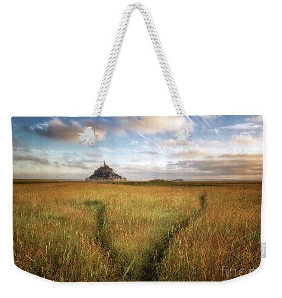 The Mont Saint-michel's Bay Weekender Tote Bag
