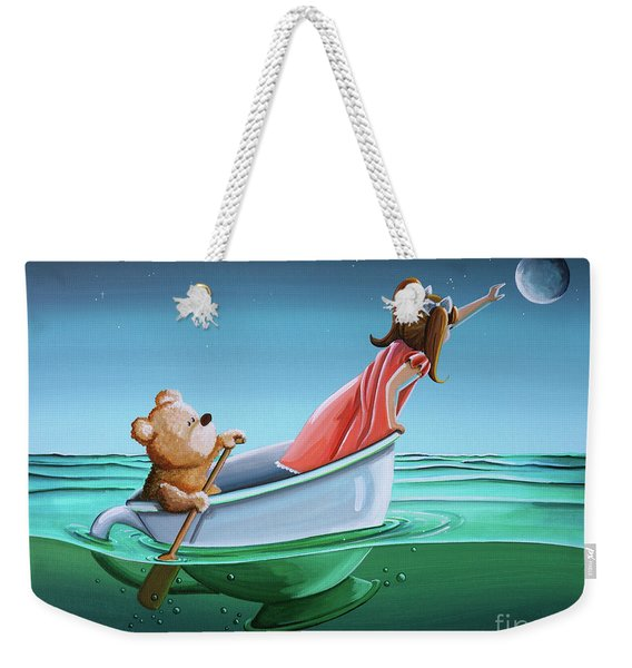 The Moon Bandits II Weekender Tote Bag