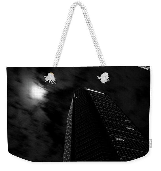 The Moon's Light Weekender Tote Bag
