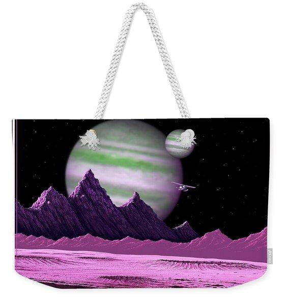 The Moons Of Meepzor Weekender Tote Bag