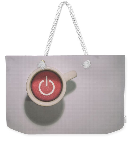 The Morning Power Up Weekender Tote Bag