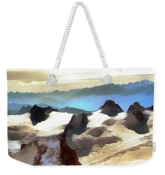 The Mountain Paint Weekender Tote Bag