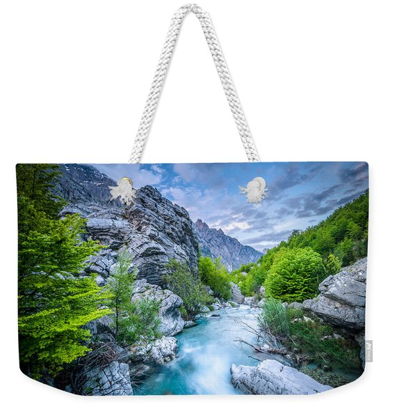 The Mountain Spring Weekender Tote Bag