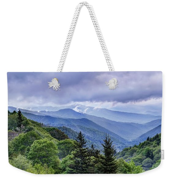 The Mountains Of Great Smoky Mountains National Park Weekender Tote Bag