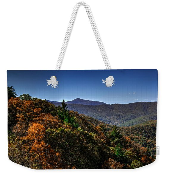 The Mountains Win Again Weekender Tote Bag