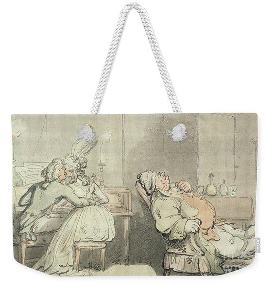 The Music Master Weekender Tote Bag