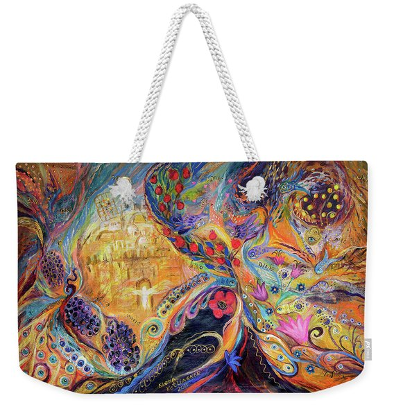 The Mysterious Visitor Weekender Tote Bag