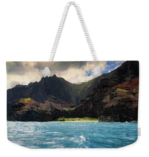 The Napali Coast Weekender Tote Bag