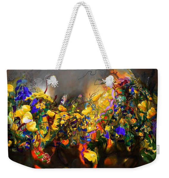 The Neglected Flower Bed Weekender Tote Bag
