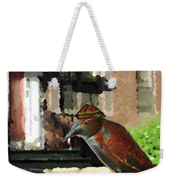 The Neighbor Lady Weekender Tote Bag