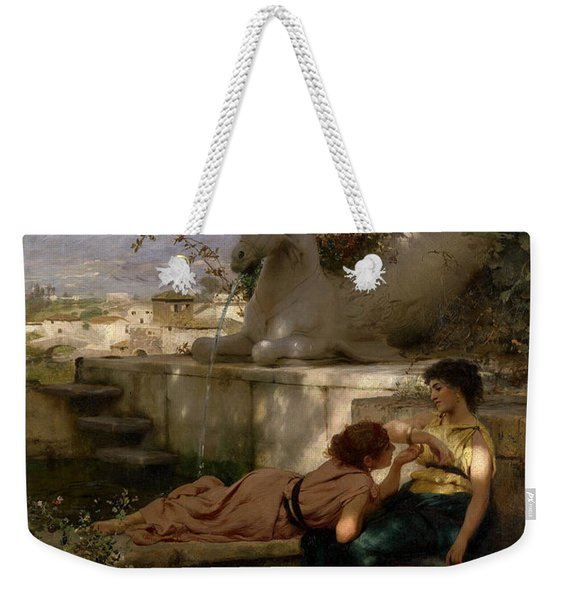 The New Bracelet Weekender Tote Bag