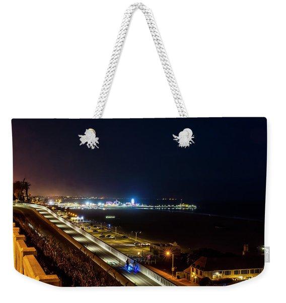 The New California Incline - Night Weekender Tote Bag
