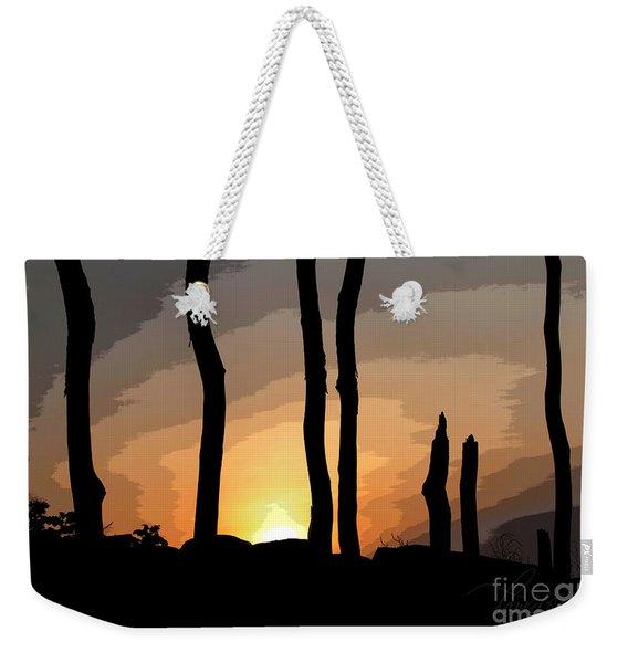 The New Dawn Weekender Tote Bag