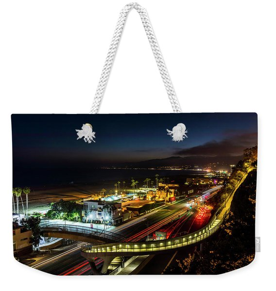 The New P C H Overpass - Night Weekender Tote Bag