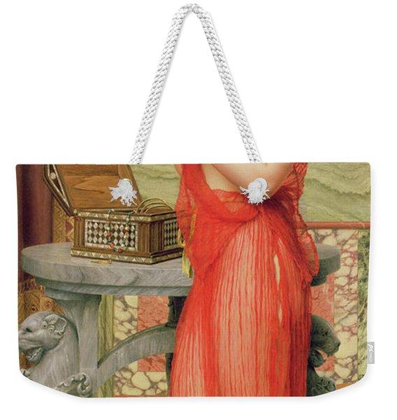 The New Perfume, 1914 Weekender Tote Bag