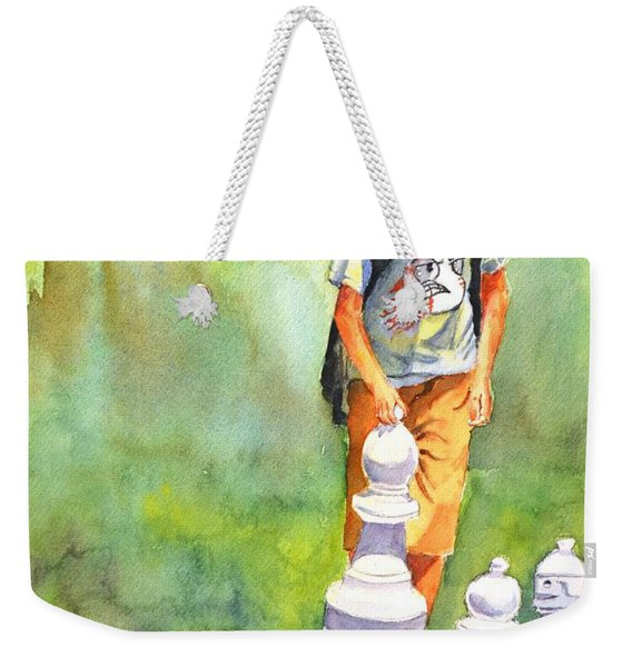 The Next Move #1 Weekender Tote Bag