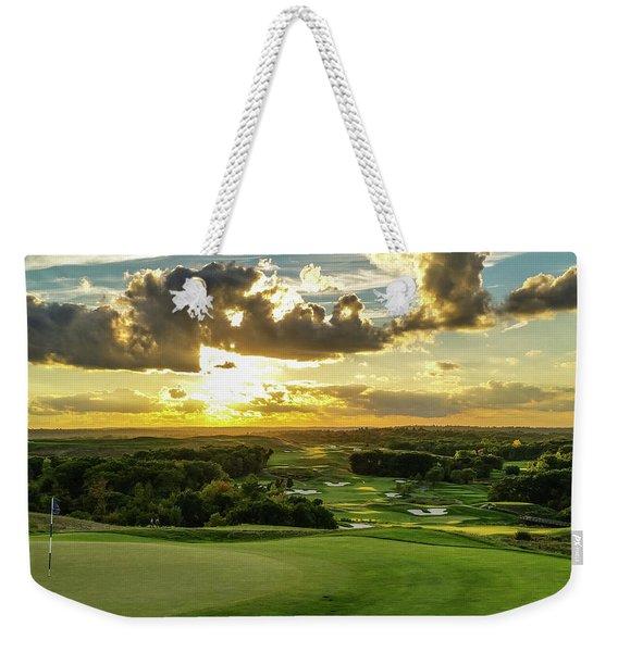 The Ninth Hole II Weekender Tote Bag