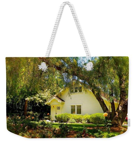 The Nixon Home  President Richard Nixon  Weekender Tote Bag