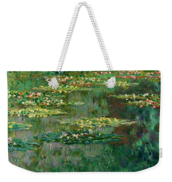 The Nympheas Basin Weekender Tote Bag