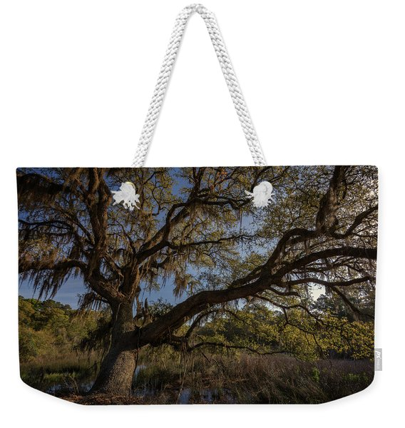 The Oak By The Side Of The Road Weekender Tote Bag