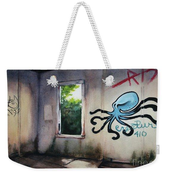 The Octopus's Garden Weekender Tote Bag