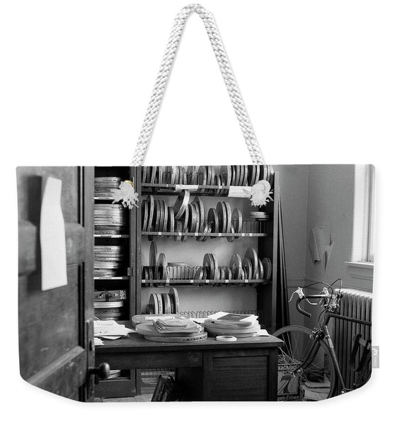 The Office Of A Teaching Assistant, 1979 Weekender Tote Bag