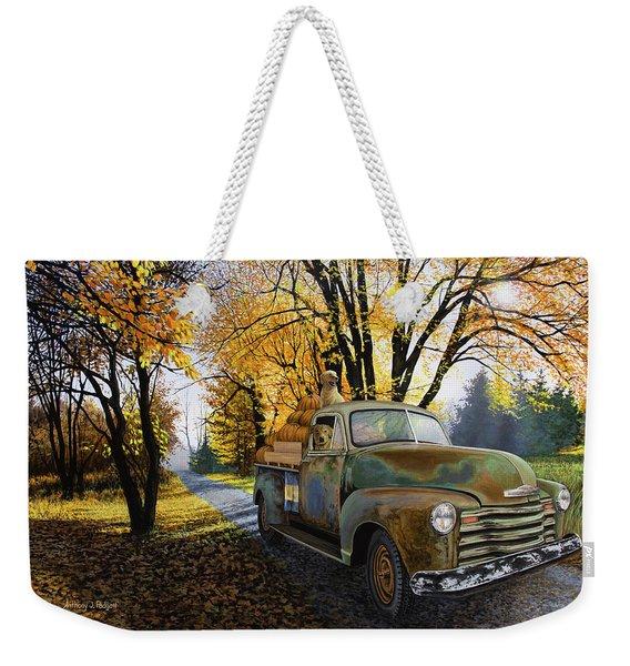 The Ol' Pumpkin Hauler Weekender Tote Bag