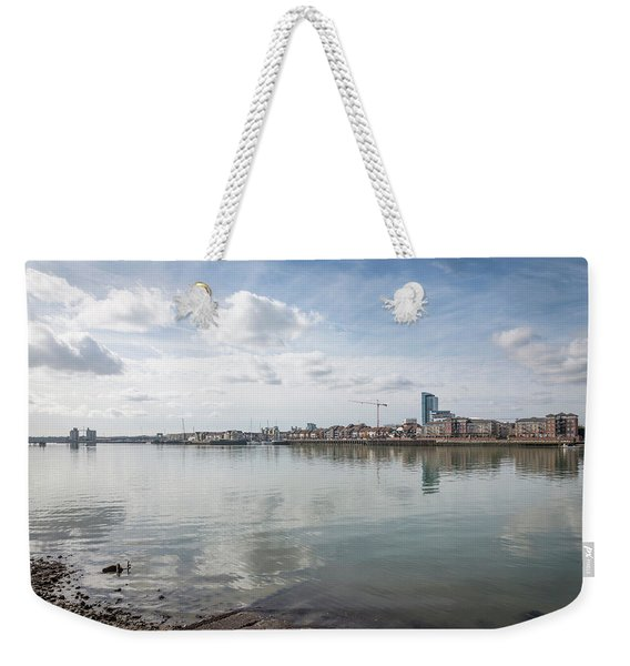 The Old And The New Weekender Tote Bag