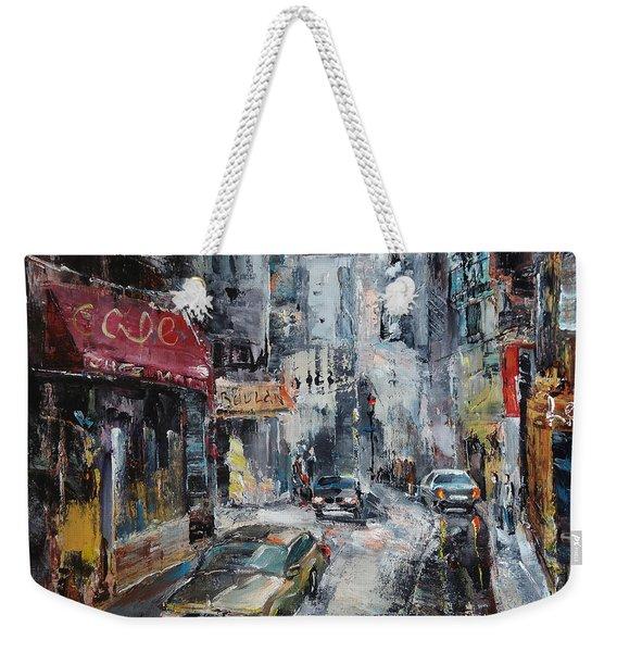 The Old District Weekender Tote Bag