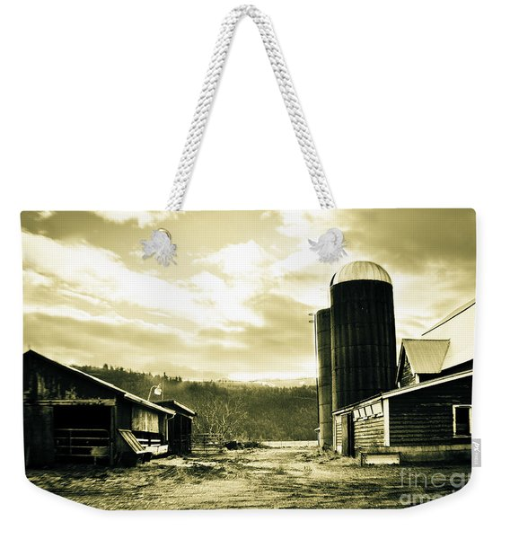 The Old Farm Weekender Tote Bag