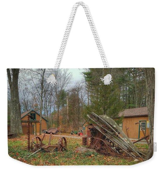 The Old Field Tools Weekender Tote Bag