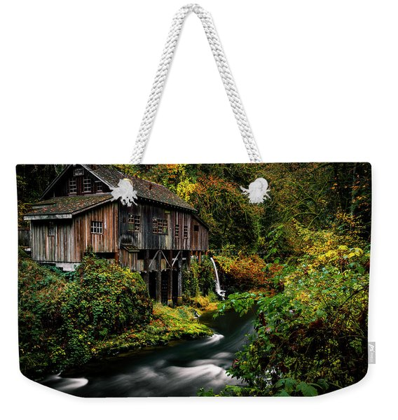 The Old Flour Mill Weekender Tote Bag