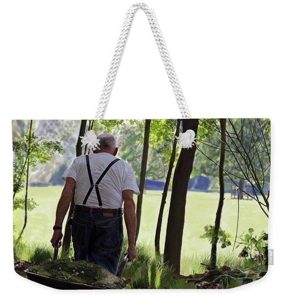 The Old Gardener Weekender Tote Bag