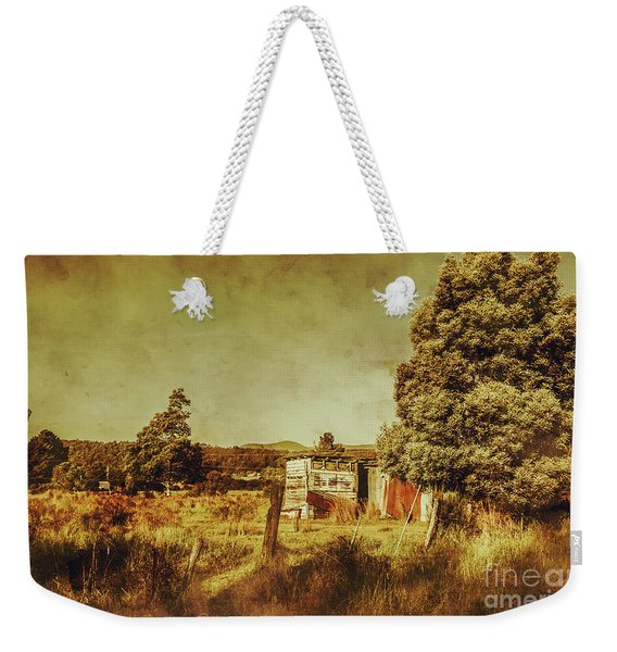 The Old Hay Barn Weekender Tote Bag