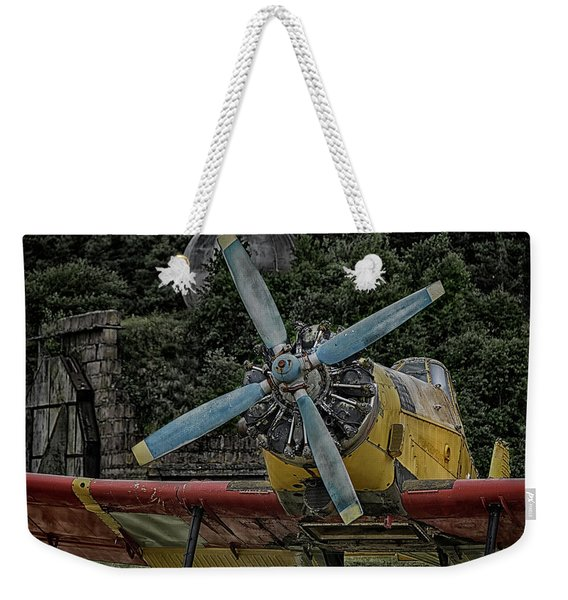 The Old Little Yellow One Weekender Tote Bag
